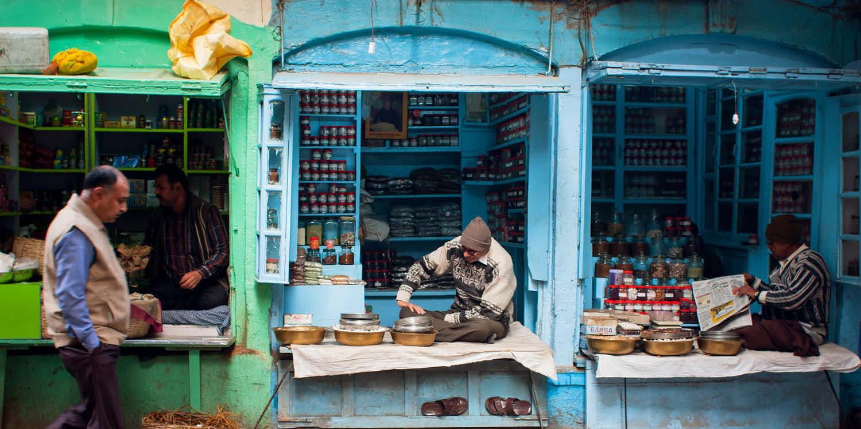 Concept restaurant Cafe Gandhi Thali Photo Mumbai