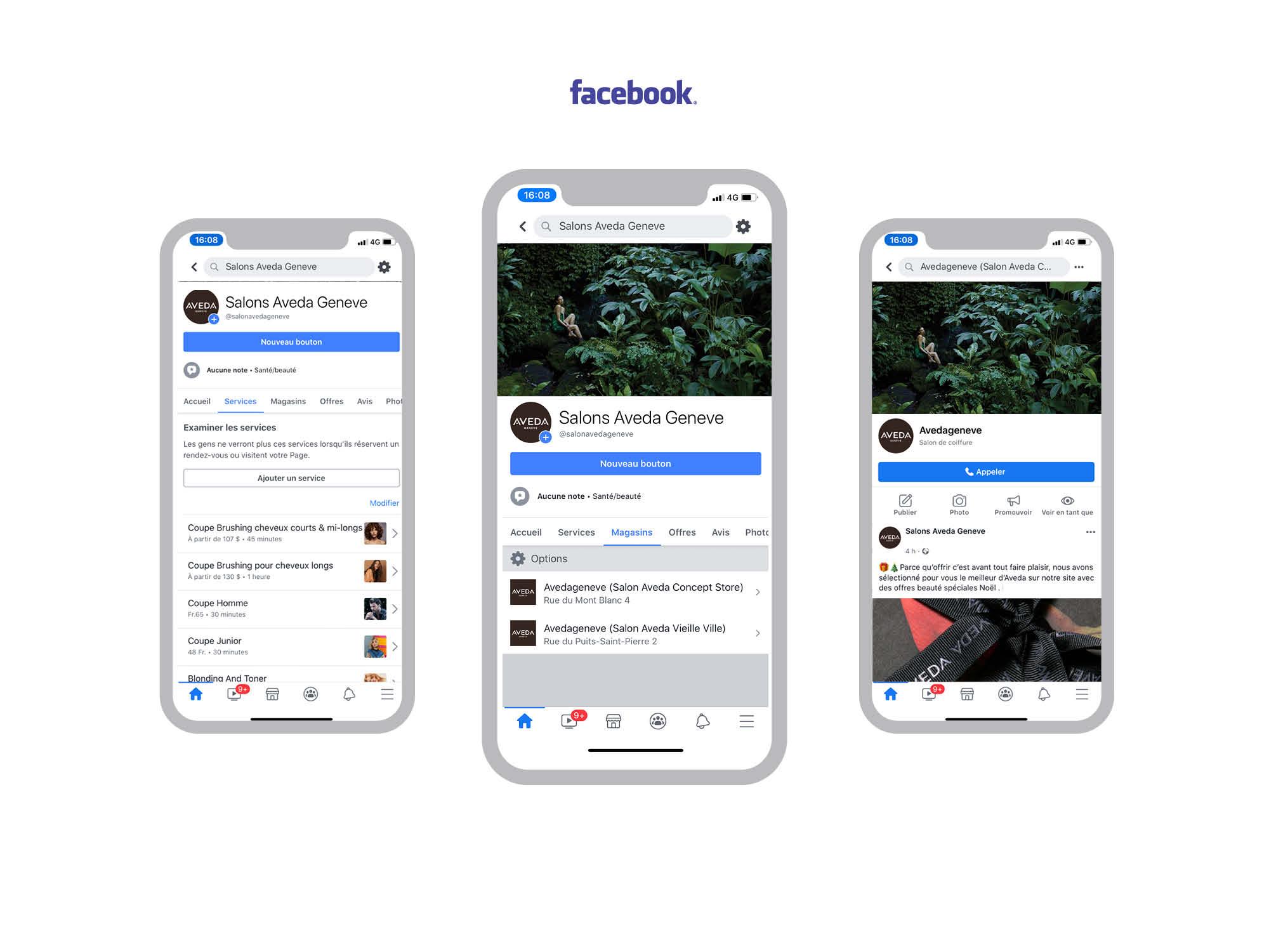 Social Media Aveda Facebook