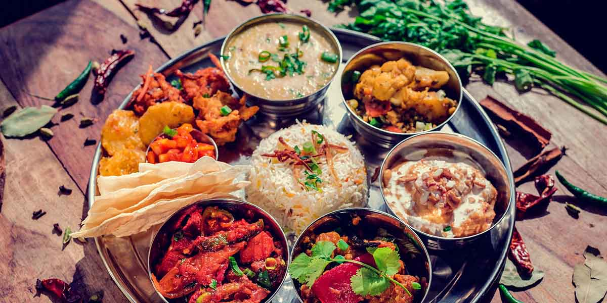Concept restaurant Cafe Gandhi Thali